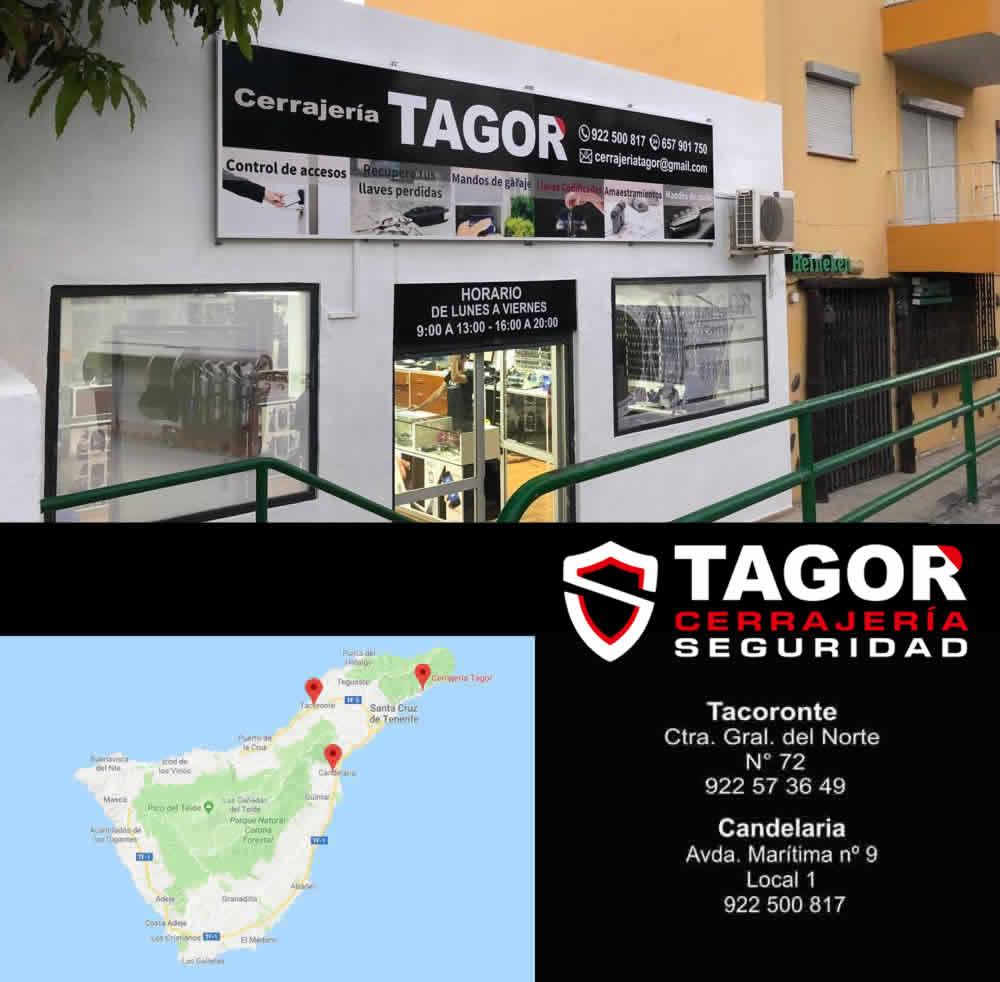Cerrajeros Tenerife Servicios Cerrajería Tagor